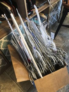 Anybody need some wire hangers?
