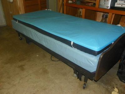 Twin Size Electric Hospital Style Bed