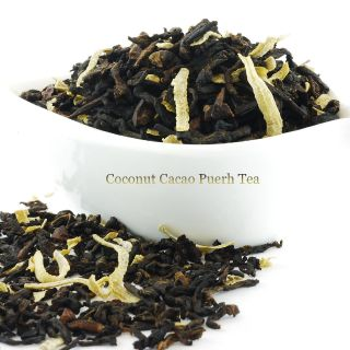 Coconut Cacao Puerh Tea 16oz
