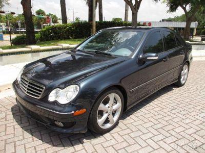2005 Mercedes-Benz C-Class C230 (Black Opal Metallic)