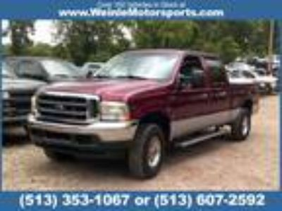 Used 2004 FORD F-250 SD XLT 4WD in Cleves, OH