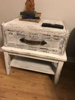 Two unique side tables $150 for both