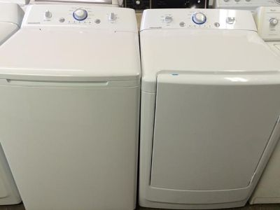 $800, New Scratch  Dent Frigidaire Washer and Electric Dryer in White