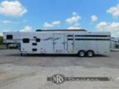 Laramie 16 Stock with 9 Living Quarters TrailerSMC