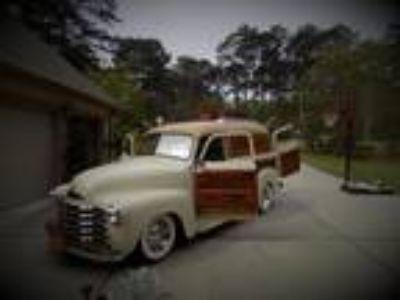 1953 Chevrolet Woodie Panel Wagon Custom