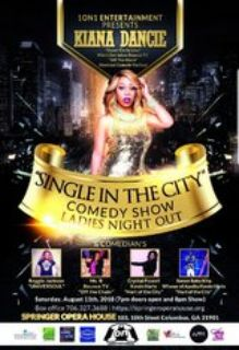 Tickets Single in the City all female Comedy show
