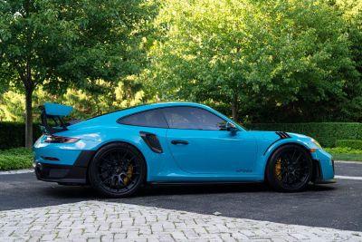 Porsche GT2 RS Weissach Miami Blue w/CXX Interior