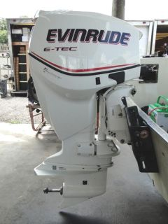 Purchase 2007 BRP Evinrude 115 HP E-Tec Etec 2-Stroke Outboard Motor motorcycle in Tampa, Florida, US, for US $5,399.99