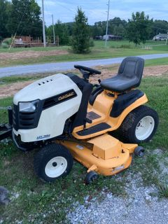Cub Cadet Lawn tractor/mower 54in deck with 26hp $1800