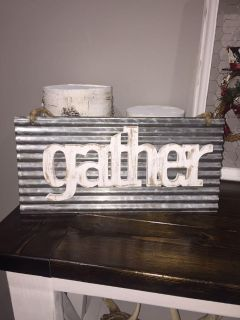 Gather sign!