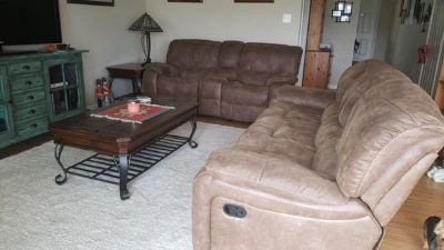 6 Pc reclining living room
