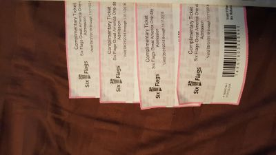 Great America tickets