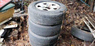 Toyota wheels and tires - Make Offer