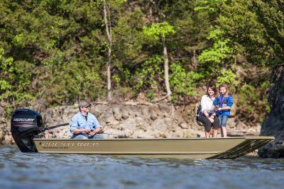 2017 Crestliner 1650 Retriever Jon Deluxe Jon Boats Boats Lancaster, SC