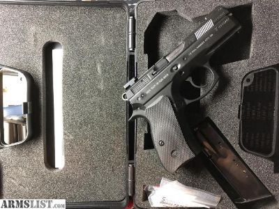 For Sale/Trade: CZ 75 P-01 Compact