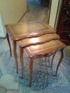 PRICE REDUCED 3 Piece Antique Nesting Table