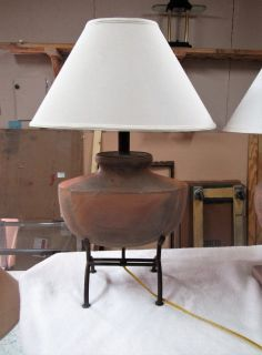 A southwest table lamp