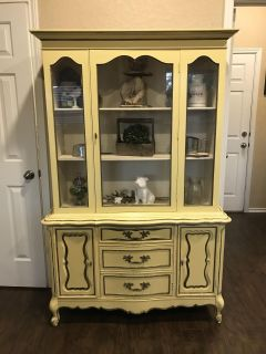 Vintage hutch ( items not included )