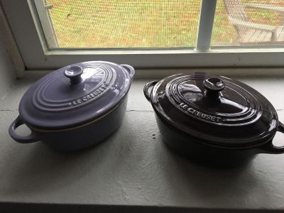 Set of small Le Creuset baking dishes