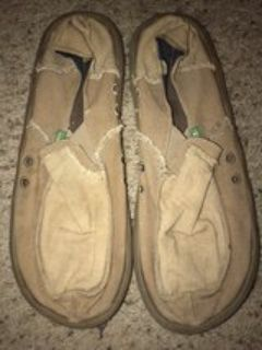 men s sanuks size 13