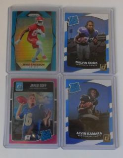 Alvin Kamara, jared Goff, cook, cheeson RC