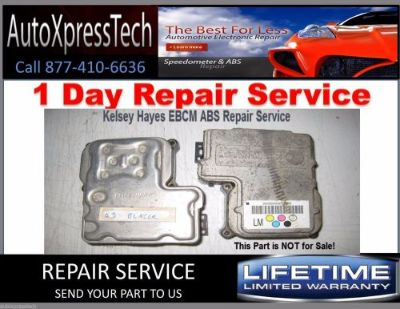 Purchase CHEVY SSR ABS / EBCM COMPUTER MODULE REPAIR / REBUILD SERVICE KH 325 motorcycle in Brockton, Massachusetts, United States, for US $49.49