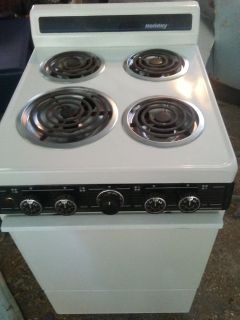 Holiday 20 inch electric stove