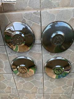 VW beetle hubcaps set of 4