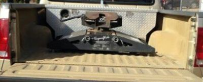 PullRite SuperGlide 20k SuperRail 5th wheel hitch automatic sliding