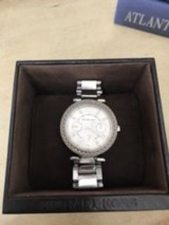 Michael Kors Parker stainless chronograph watch