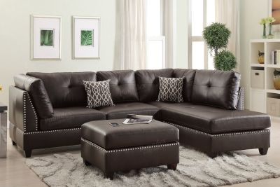 sectional with ottoman only a few of each