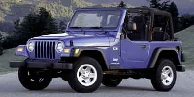 2004 Jeep Wrangler X (Red)
