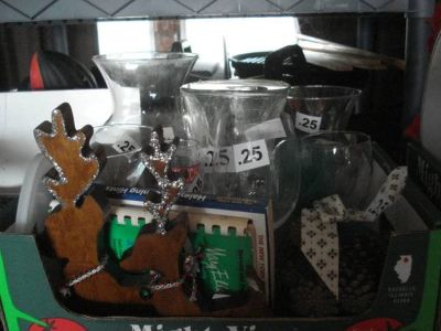items .25 each won't last --- all sorts of items - like new