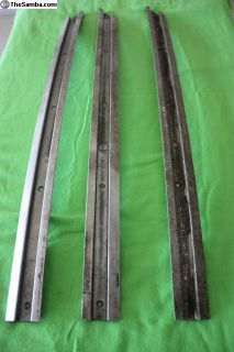 2 Fold Ragtop / Sunroof Rails 1956-63