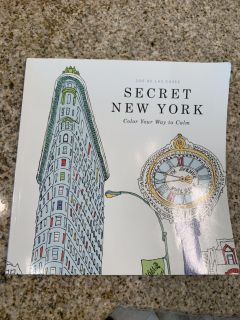 Coloring Book for grown ups - NEW YORK!