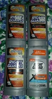 $5 firm for Brandnew lot of 4 Right Guard Deo's