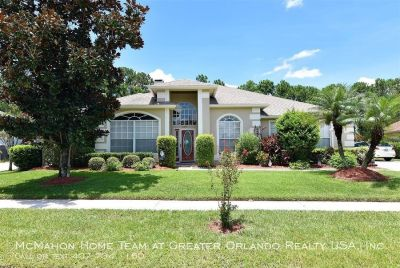 Waterford Lakes 4/3 POOL HOME. Conservation view, SUMMER KITCHEN.. rent includes Pool Service/Lawn Service/Pest Control
