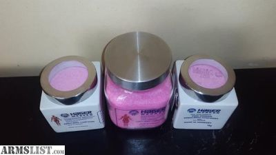 For Sale: Engraved Hager werkern embalming powder +2780016959, hot pink 98% and white 100%, 0.07uranium made in Germany for sale in South Africa.