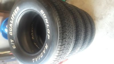 Used Set of Dunlop Tires P235/70R15