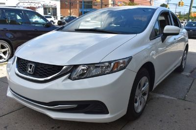 2015 Honda Civic LX (White)