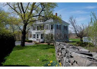 114 Marsh Hill Rd DRACUT Five BR, Antique Colonial nicely set on