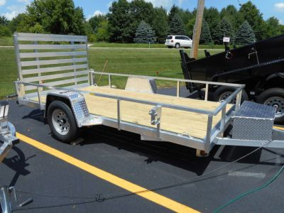 2019 Quality Trailers 74X12 DROP AXLE Equipment Trailer Trailers Belvidere, IL