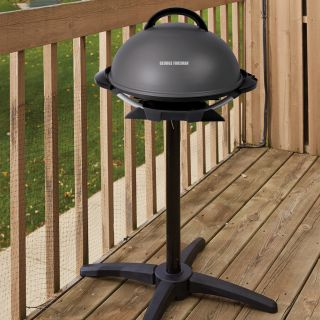 Indoor/outdoor electric barbecue