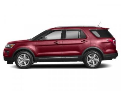 2019 Ford Explorer XLT (Ruby Red Metallic Tinted Clearcoat)
