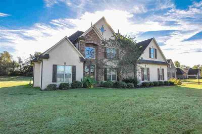 466 Fairway Dr Covington, Fabulous French Country Home with