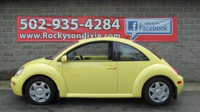 2001 Volkswagen New Beetle GLX 1.8T (Yellow)
