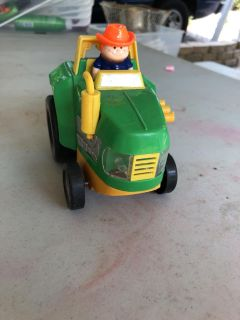 Chunky plastic tractor
