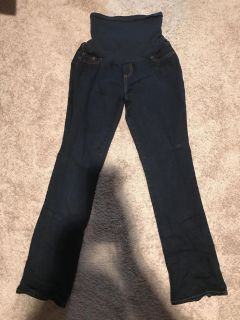 Size Large maternity jeans