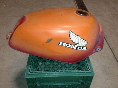 Sell Honda MR175 MR 175 CR125 CR 125 gas fuel petrol tank & petcock good motorcycle in Hayden, Idaho, US, for US $44.99