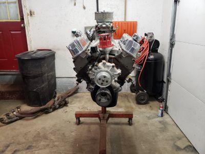 "414"" SBF engine complete!!"